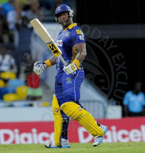 Barbados Tridents marquee batsman, Dwayne Smith.