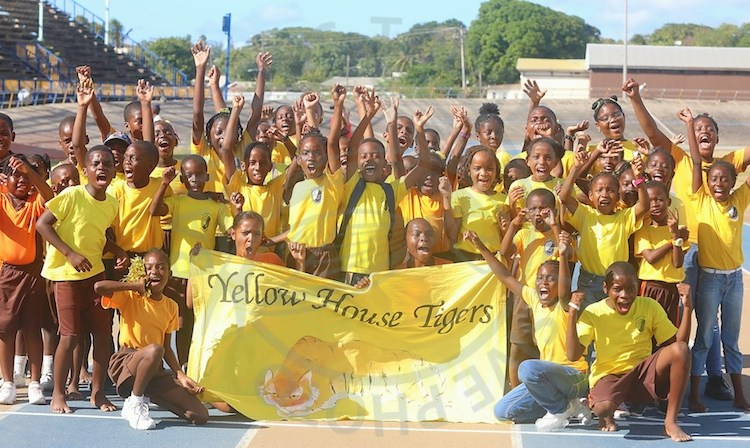 Yellow House Tigers are new sports champions of Lawrence T. Gay Memorial Primary.