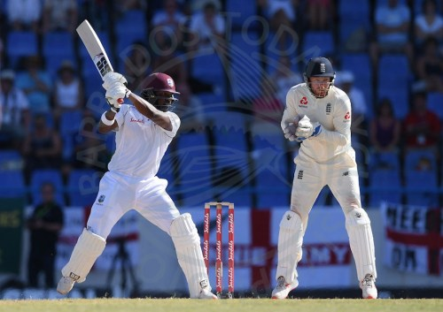 Darren Bravo epitomised focus as he kept England at bay until the close of play. He returns tomorrow on 33 with a major role to play.