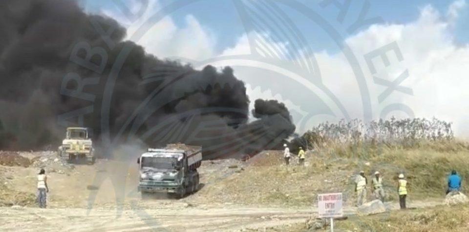 Update - Fire at Mangrove Landfill