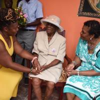 Clarissa Geraldine Brathwaite celebrates 100