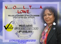 Volta Lowe running for 2nd Vice President