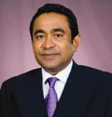 Abdulla Yameen, of the Maldives