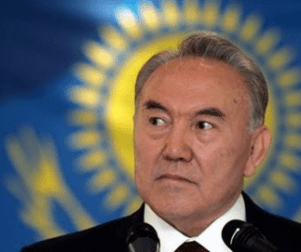 Nursultan Nazarbayev, of Kazakhstan