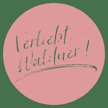 Verliebt verlobt Waldner Logo