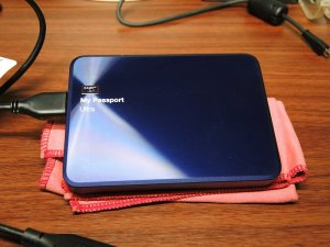 Portable HDD「Blue Shotgun」