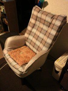 今回導入の大型回転椅子ニルス