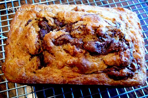 Banana-Nutella-Bread-Barbara-Bakes-loaf