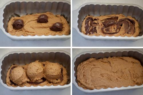 Pumpkin-Nutella-Swirl-Bread-Process Collage