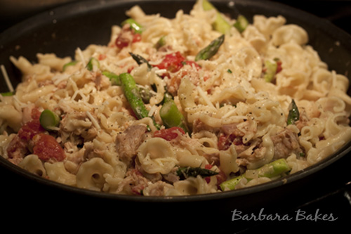 Campanelle Pasta with Chicken Confit