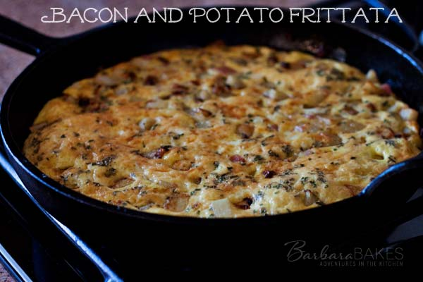 Featured Image for post Bacon and Potato Frittata