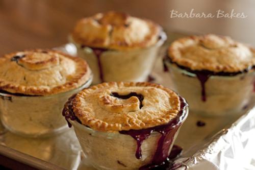 Blueberry Apple Mini Pies