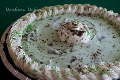 Mint Chocolate Chip Pie recipe