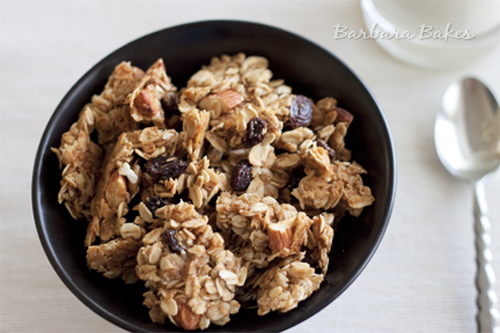Almond-Raisin-Granola