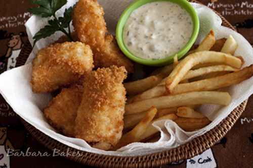 Halibut-and-Chips-in-a-basket