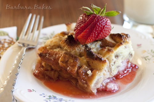 Strawberry-Rhubarb-Baked-French-Toast-2