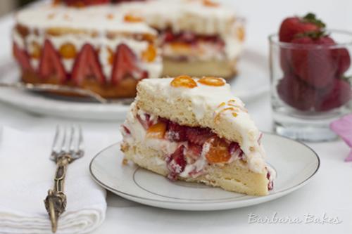 Strawberry-Mango-Fraisier