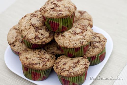 Cinnamon-Zucchini-Muffins