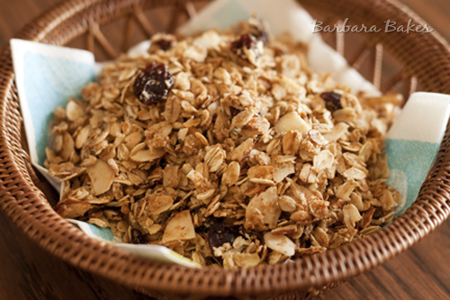 Coconut-Cherry-Granola