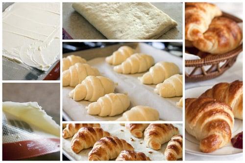 Croissant-Collage