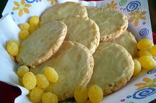 Lemon Drop Candy Cookies