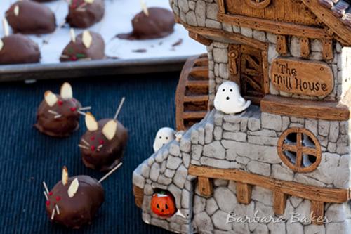 Rat Brownie Bites Forever Nigella: Halloween Horrors