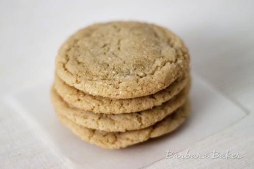 Chewy Caramel Stuffed Sugar Cookies