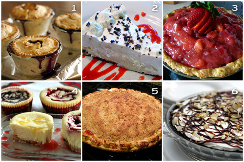 Favorite-Pies Collage