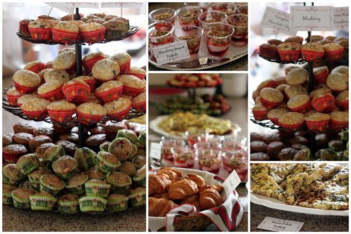 A collage of Brunch Ideas for the Holidays