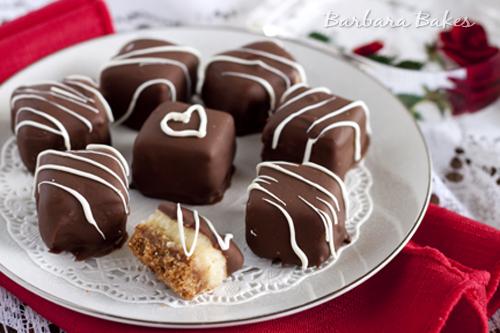 Chocolate-Caramel-Cheesecake-Bites-Barbara-Bakes-2