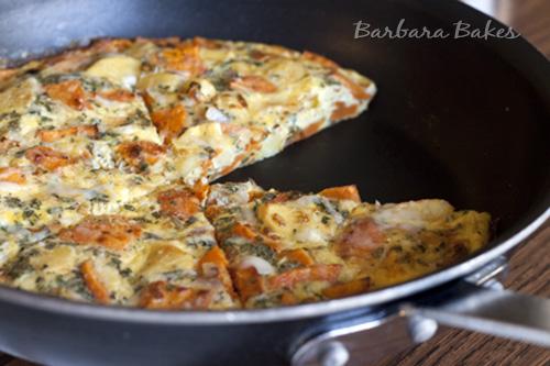 Roasted-Vegetable-Frittata-Barbara-Bakes