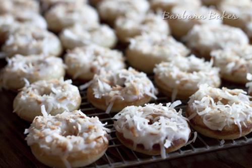 Coconut-Cream-Mini-Donuts-2-Barbara-Bakes
