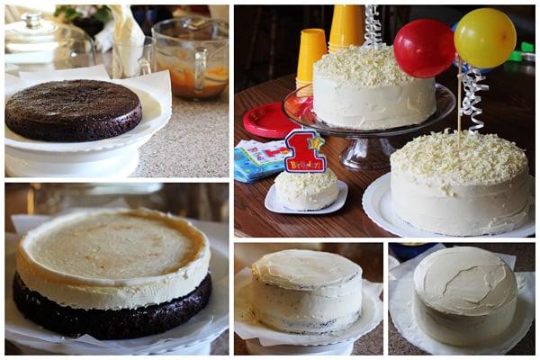 Chocolate Cheesecake Cake recipe from Barbara Bakes
