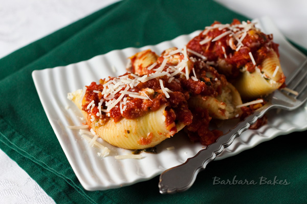 Featured Image for post Spinach and Artichoke Stuffed Shells