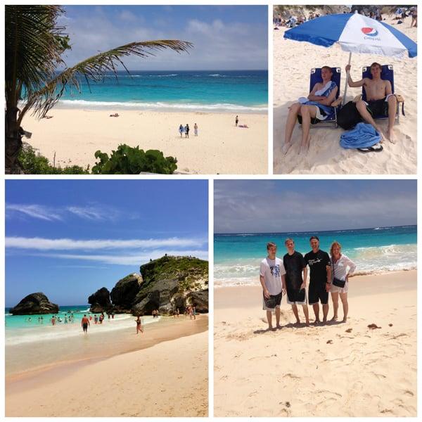 Bermuda-Collage