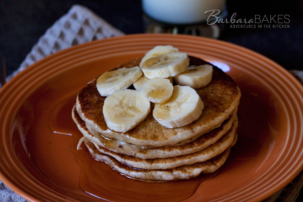 Featured Image for post Whole Wheat Banana Pancakes
