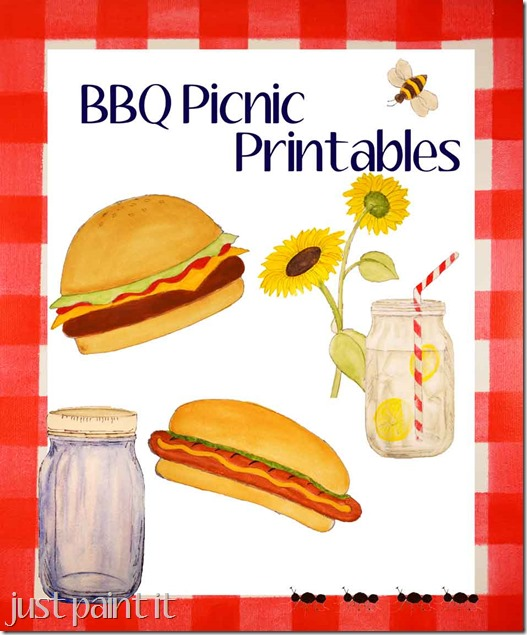 BBQ Picnic Printables