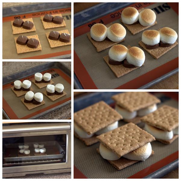 Chocolate-Caramel-Smores-Collage