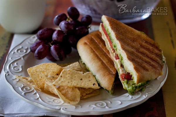 Featured Image for post Caprese Panini