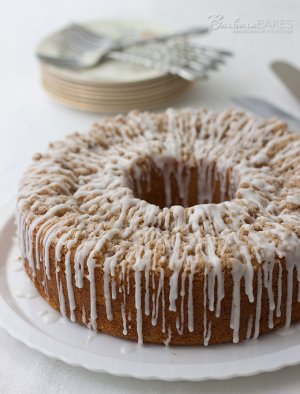 Fresh Peach Coffee Cake | Barbara Bakes