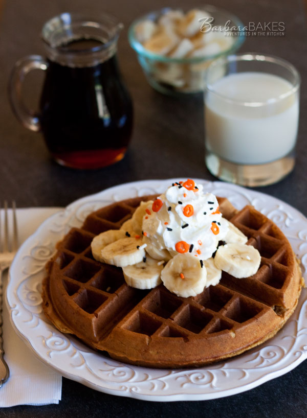 Featured Image for post Whole Wheat Pumpkin Yeast Waffles