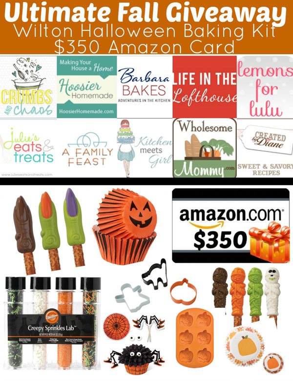 Featured Image for post Giveaway and Favorite Fall Recipes