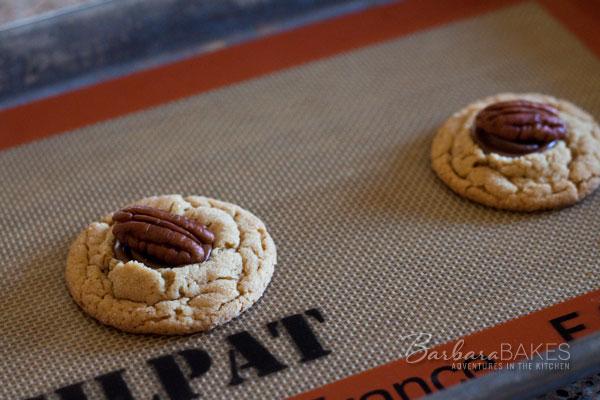 Turtle Peanut Blossom Cookies | Barbara Bakes