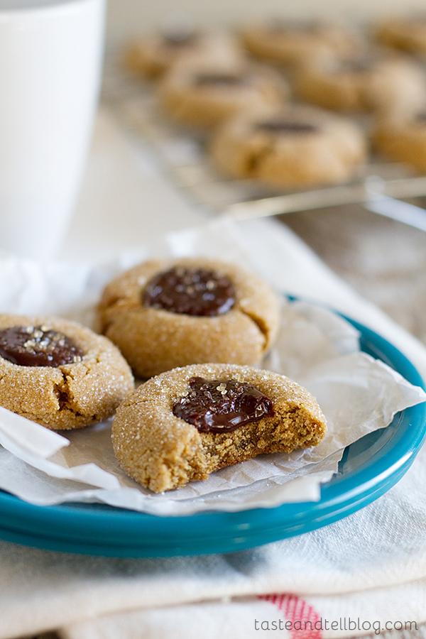 Chocolate Filled Gingersnap Recipe @BarbaraBakes