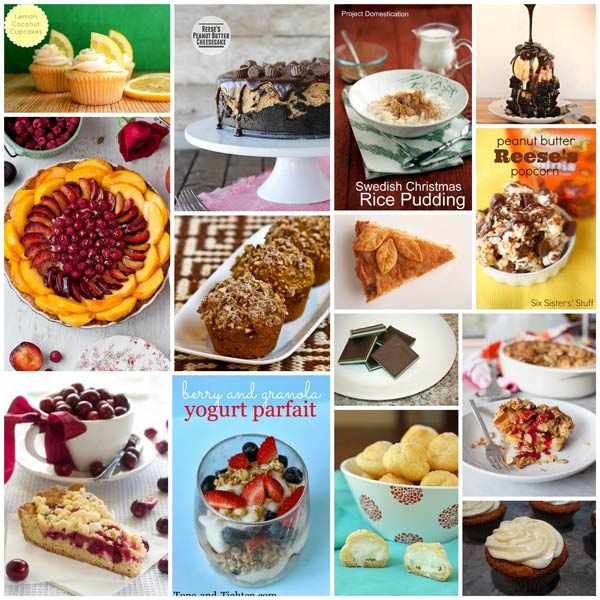 Collage of Favorite Blogger Recipes
