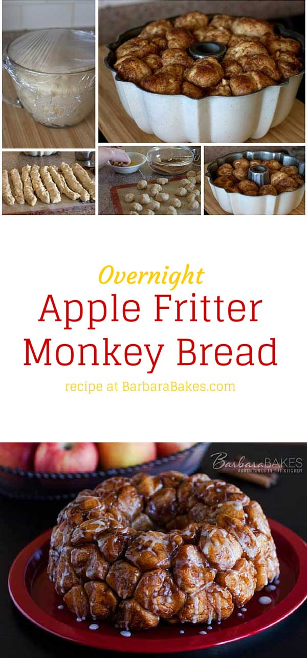 Collage of Overnight-Apple-Fritter-Monkey-Bread-Barbara-Bakes