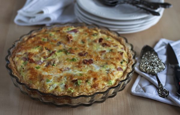 Meat Lovers Quiche recipe on Barbara Bakes