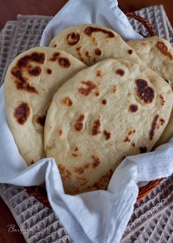 Naan - Indian Flatbread Recipe