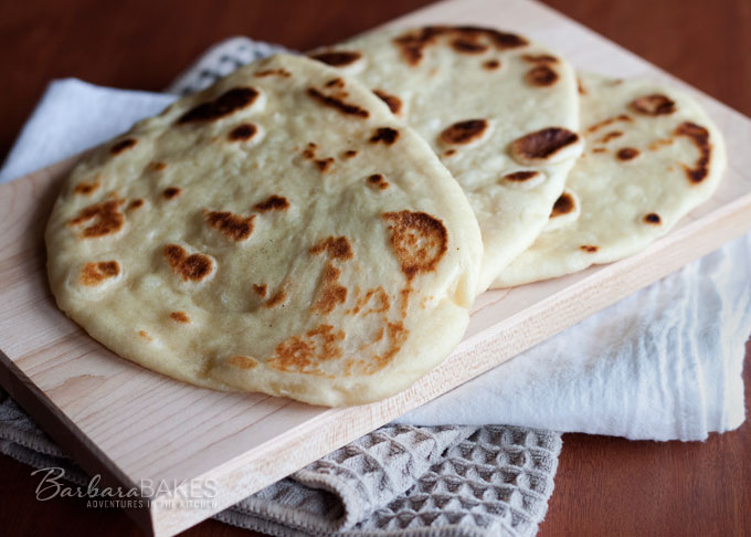 Featured Image for post Easy To Make Naan - Indian Flatbread