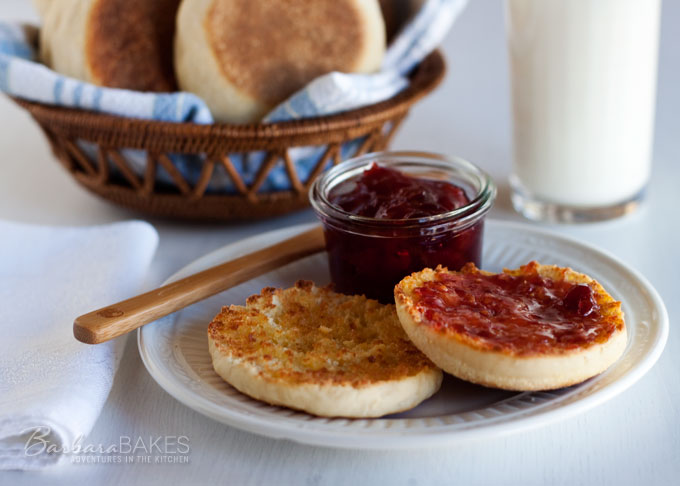 Overnight English Muffin Recipe from Barbara Bakes